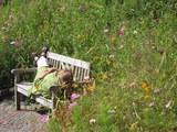 Platz 5: Powernapping im Botanischen Garten, Fotografin Katja Sala